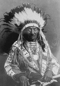 Lakota-Häuptling Red Cloud, 1822–1909