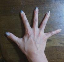 パワーヨガの手