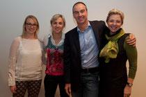 Referenten von links nach rechts: Mag. Zöhrer, Mag. DDr. Lamprecht, Mag. Dr. Konrad, Mag. Hiller-Baumgartner