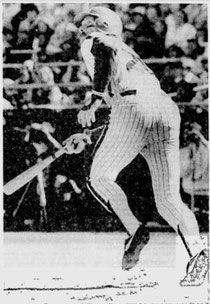 Mike Schmidt hit his 44th homer of the season.