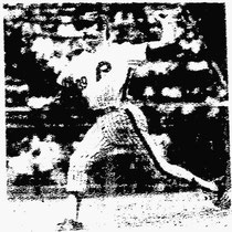 Sparky Lyle gave up four runs, two earned, in his Phillies debut.