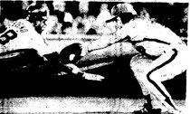 Pete Rose tried to tag out Cesar Cedeno on a Carlton pickoff.