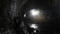 El túnel de lava de la Hacienda Privilegio es el segundo más grande de Latinoamérica.
