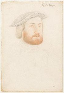 Antoine de La Rochefoucauld, d'après Jean Clouet, Musée Condé du Château de Chantilly