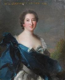 La marquise de Clermont-Gallerande