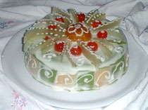 "Traditional ""Cassata Siciliana"""