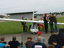 Flight show in Dübendorf