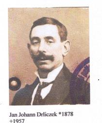 Johann Drliczek ca. 1905