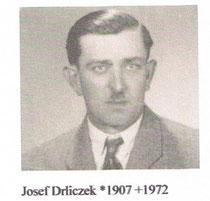Josef Drliczek ca. 1940