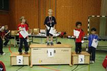 Der damals erst 5 Jahre alte Noah Emmerich auf dem Siegertreppchen.