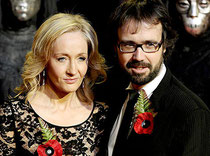 JK Rowling et Neil Murray