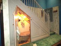 Le placard sous l'escalier