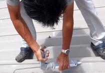 折板屋根シーリング工事