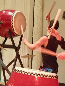 Daiko Kurse in der Trommelschule- Yngo Gutmann Leipzig, Deutschland