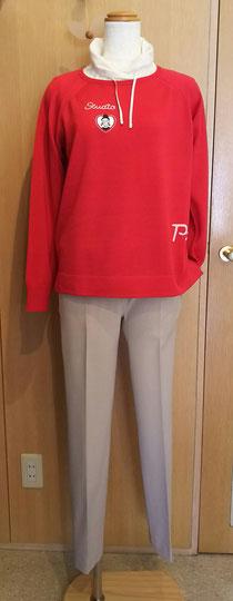 ウール100%セーターとパンツ