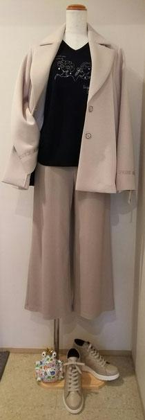 ピッコーネシルクセーターとジャケット