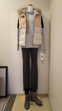 ゆるゆるハイネックセーター