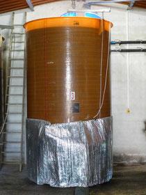 cuve de macération carbonique