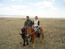 Printemps a cheval au Khentii