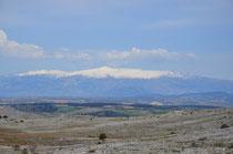 Blick auf die Sierra Nevada.