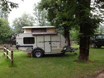 Camping Municipal direkt an der Vésere