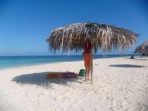 Strand fast für und alleine.