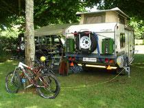 Camp Nr. 2 an der Dordogne