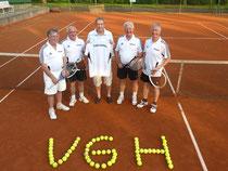 Bild von lks.: Gero Fröhlich, Harald Fieker, Roland Stahl, Gerrit Hesselink, Klaus-Dieter Jahn