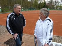 Bild v.lks.: 2.Vors. Roland Stahl und Präsident Gero Fröhlich