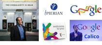 Ray Kurzweil, Ipierian, 23andMe, Google Genomics, Calico