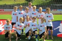 3.Platz beim Turnier in Passau am 08.07.2012 - Foto: BFV