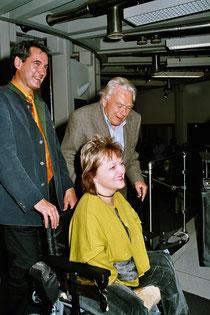 Georg und Paul Flora mit Marianne