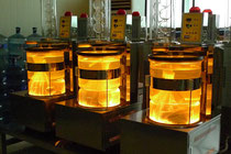 丸ガラス赤外線抽出器