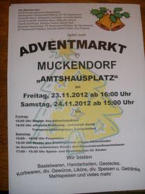 Adventmarkt Muckendorf 2012