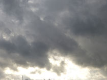 ☆ Foto: Petra Bojens  ❀   Himmel über Kiel