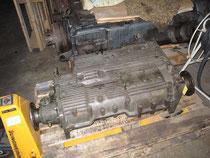Repariertes Schaltgetriebe
