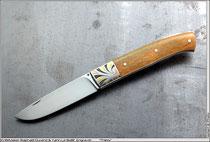 Création sur couteau Raphaël Durand