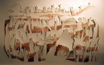 Schattenlandschaft, USA, 130x80 cm, 2014