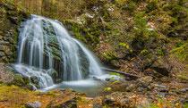 Wasserfall am Anfang des Aufstieges zum Rubihorn