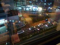 ホテル サクラ・フルール青山8階から交差点