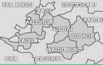 Nördlich von Solothurn Baselland