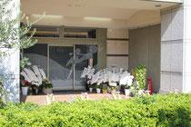 西田メンタルっクリニックの入口です