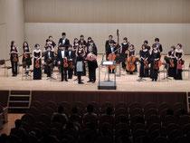 2014 第33回:定期演奏会 10月5日(日) 川西市 みつなかホール  G. ロッシーニ 弦楽のためのソナタ第2番イ長調  G.F. ヘンデル 合奏協奏曲ニ長調 作品6の5  J. シベリウス 即興曲  E, グリーグ ホルベルク組曲