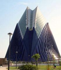 Agora-Gebäude in der Stadt der Künste und der Wissenschafte, Valencia