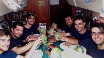 Un repas dans la cabine 2014