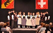 Unser Auftritt in Interlaken