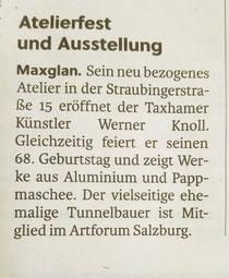 Salzburger Stadtnachrichten vom 19.06.2029 zur Eröffnung am 20.06.2029 um 16:00 Uhr