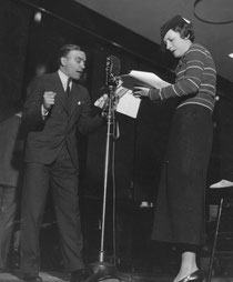 """""""Secrets"""" performing with Walter Abel"""