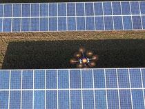 Photovoltaik Drohne im Einsatz