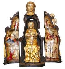 Vierge ouvrante de Saint Matthieu  (1390)